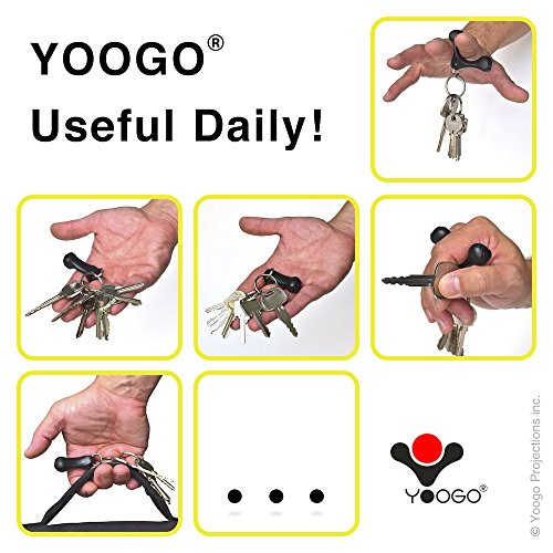Yoogo Self Defense Keychain Gentleman Pirate Club